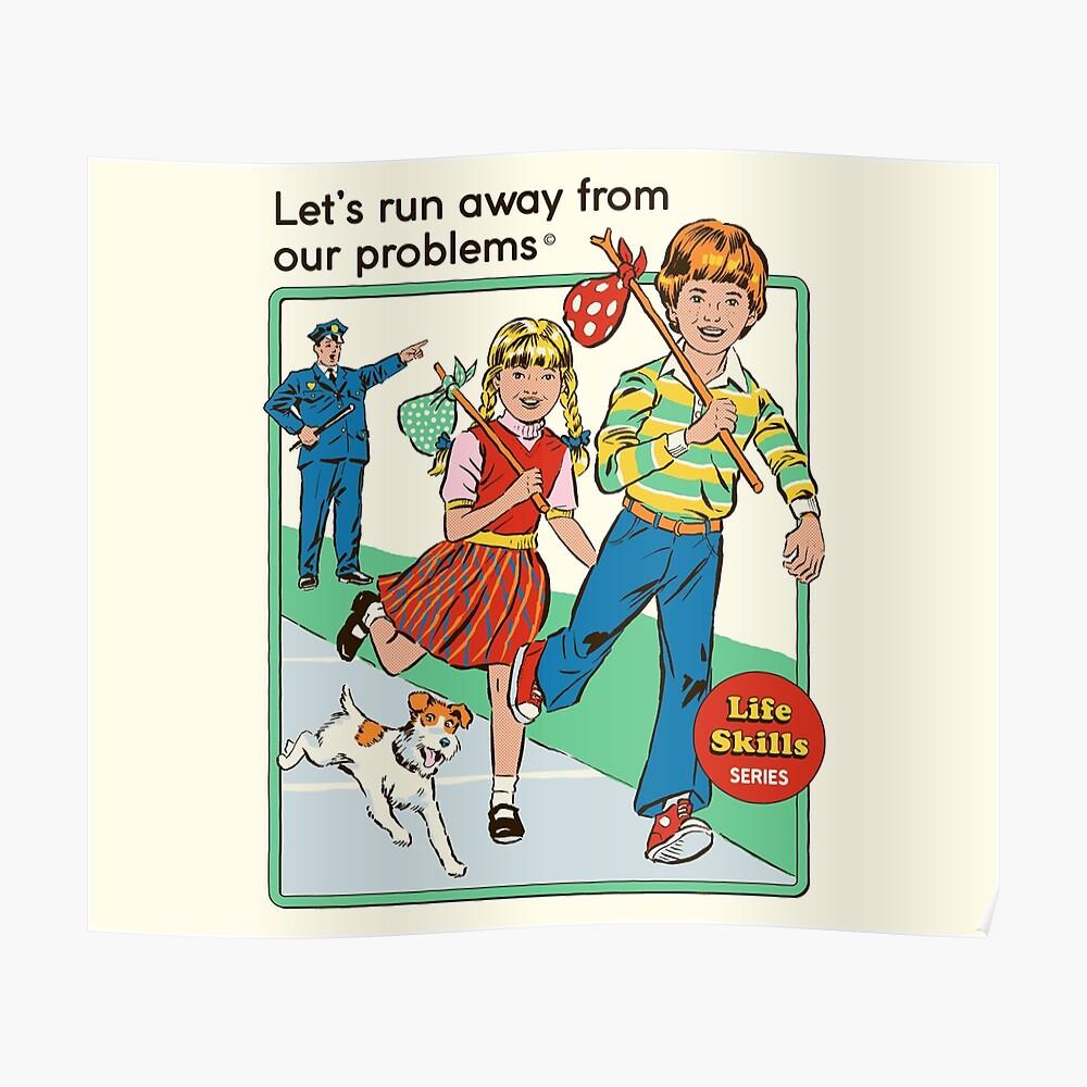 Let's Run Away Poster