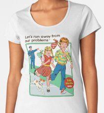 Let's Run Away Women's Premium T-Shirt