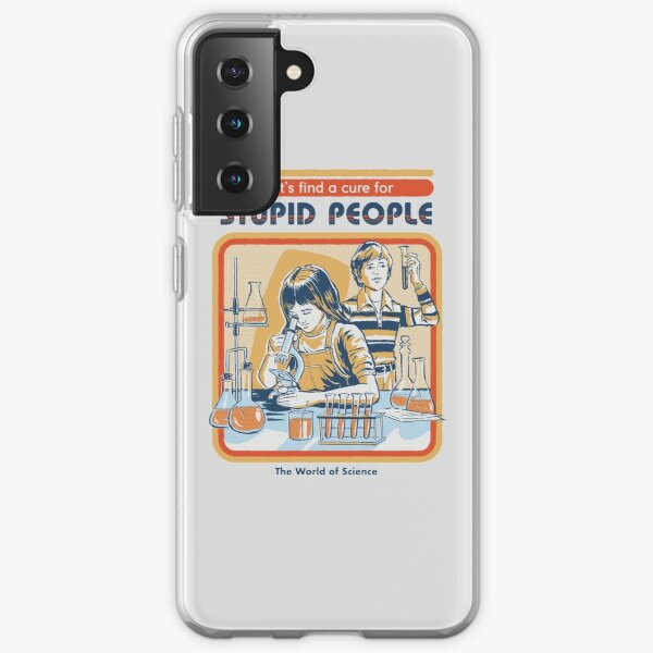 A Cure For Stupid People Samsung Galaxy Soft Case