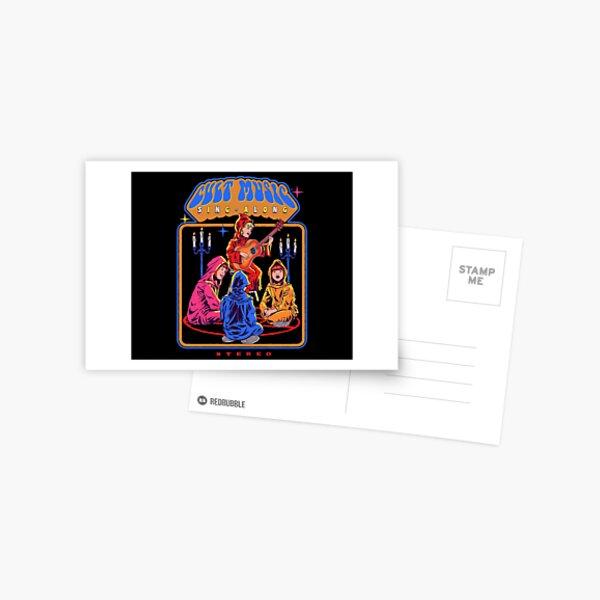 Cult Music Sing-Along Postcard