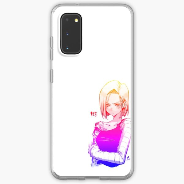 ANDROID 18 Samsung Galaxy Soft Case