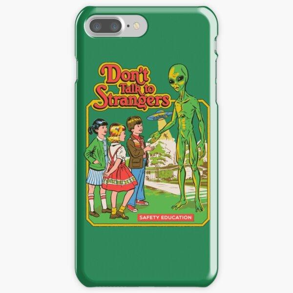 Sprich nicht mit Fremden iPhone Leichte Hülle