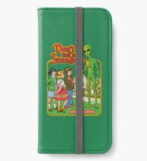 Don't Talk To Strangers iPhone Wallet/Case/Skin