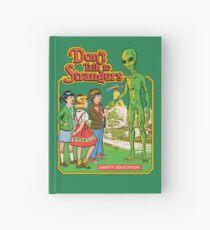 Don't Talk To Strangers Hardcover Journal