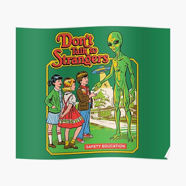 Sprich nicht mit Fremden Poster