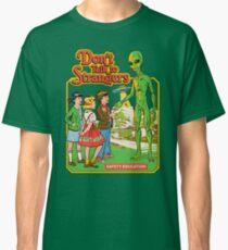 Camiseta clásica No hables con extraños