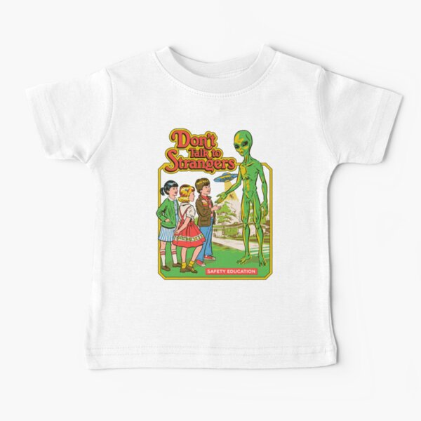 Sprich nicht mit Fremden Baby T-Shirt