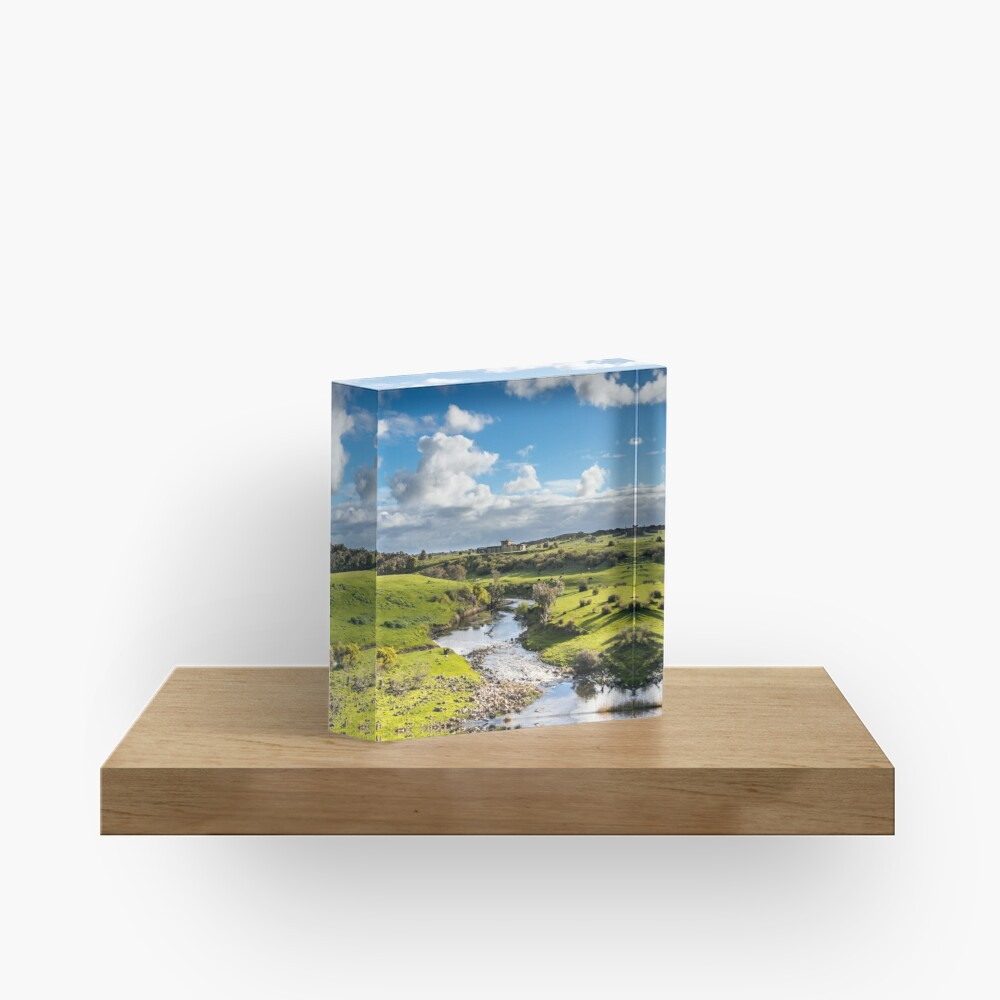 Hopkins fall river Acrylic Block