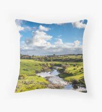 Hopkins fall river Throw Pillow