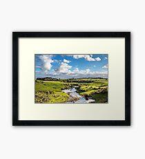 Hopkins fall river Framed Art Print