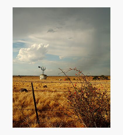 Passing Rain,Rural Geelong Photographic Print