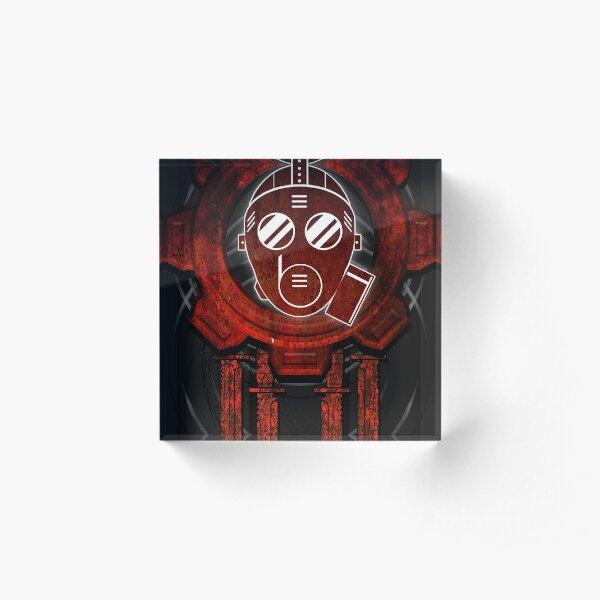 Rubberman Gear - Red Acrylic Block