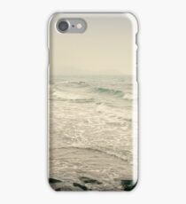 Winter Days at Pentewan Beach,Cornwall iPhone Case/Skin