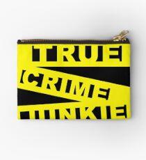 True Crime junkie Studio Pouch