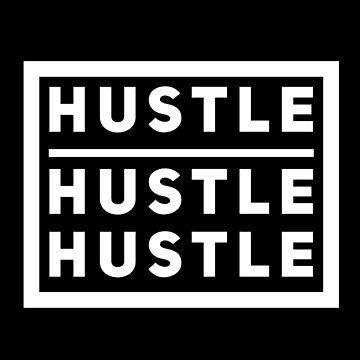Hustle Dran Stay Work Success Endurance Gas Give Gift by Netsrikfa