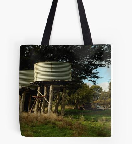 Water Tanks, Macendon Ranges Tote Bag