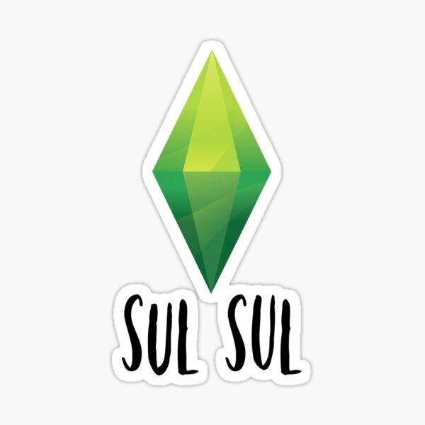 Sul Sul - The Sims say Hello Sticker
