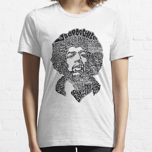 Tipografía Jimmy Hendrix Legacy [Tipo A] Camiseta esencial