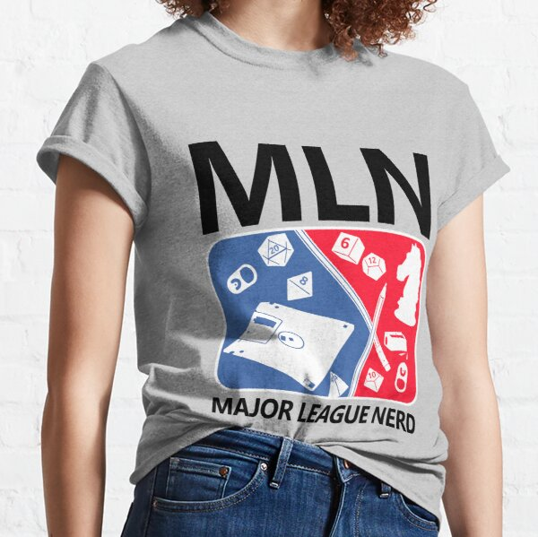 Major League Nerd Classic T-Shirt