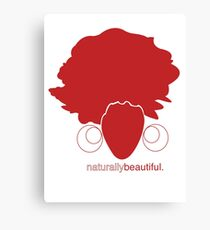 Red Naturally Beautiful Canvas Print