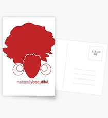 Red Naturally Beautiful Postcards