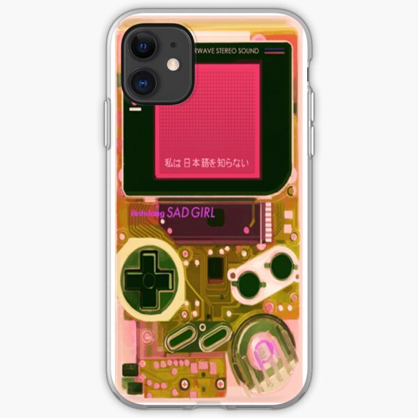 Retro GameBoy - Iphone & Galaxy Cases iPhone Soft Case