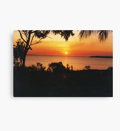 Sunset at Fanny Bay. Darwin Canvas Print