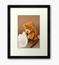 I Lost My Hat Framed Print