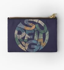 California Surfing Typography Studio Pouch