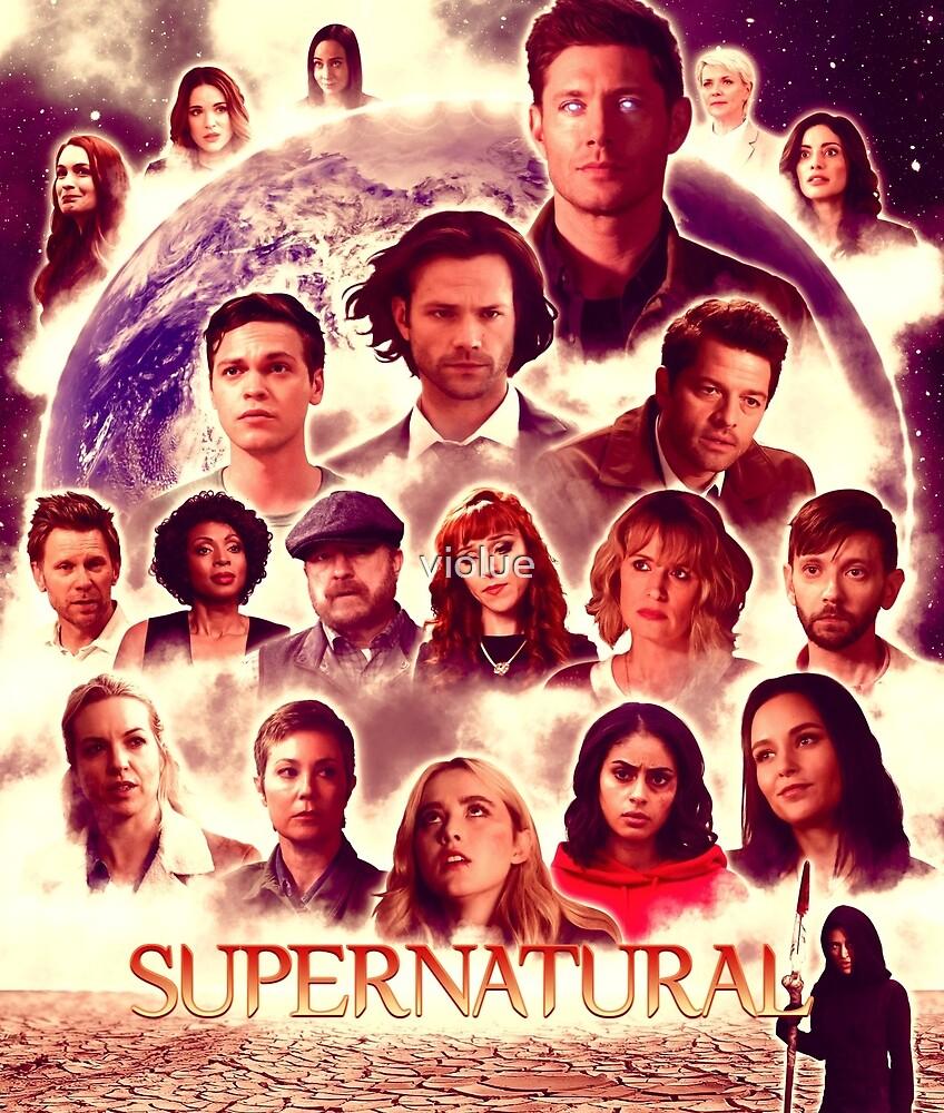 Supernatural 14B by violue