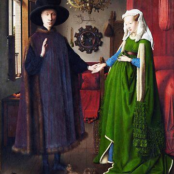 The Arnolfini Portrait Jan van Eyck by buythebook86