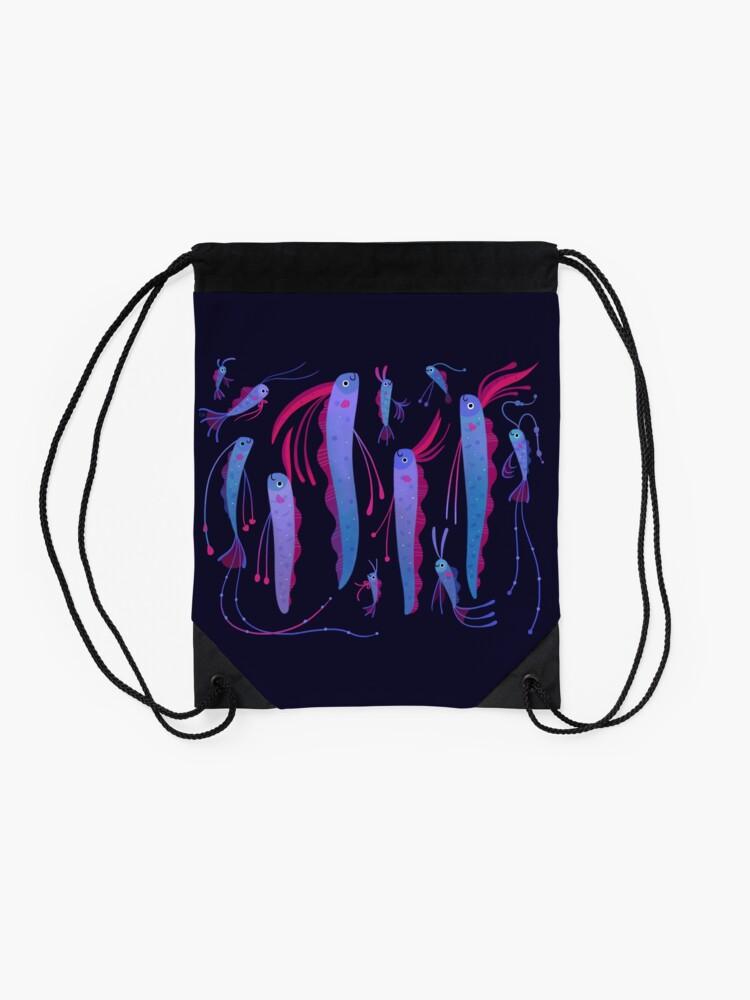 Alternate view of Oarfish Drawstring Bag