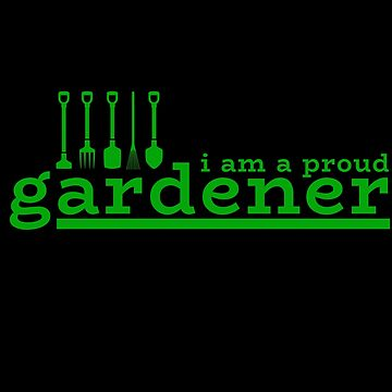 Gardener gardening garden plants botany gift by design2try