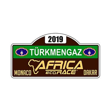 Africa Eco Race - 2019 badge by MichailoAvilov