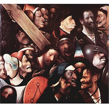 Christ Carrying the Cross Hieronymus Bosch by buythebook86