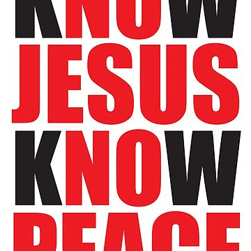 Know Jesus by plushism