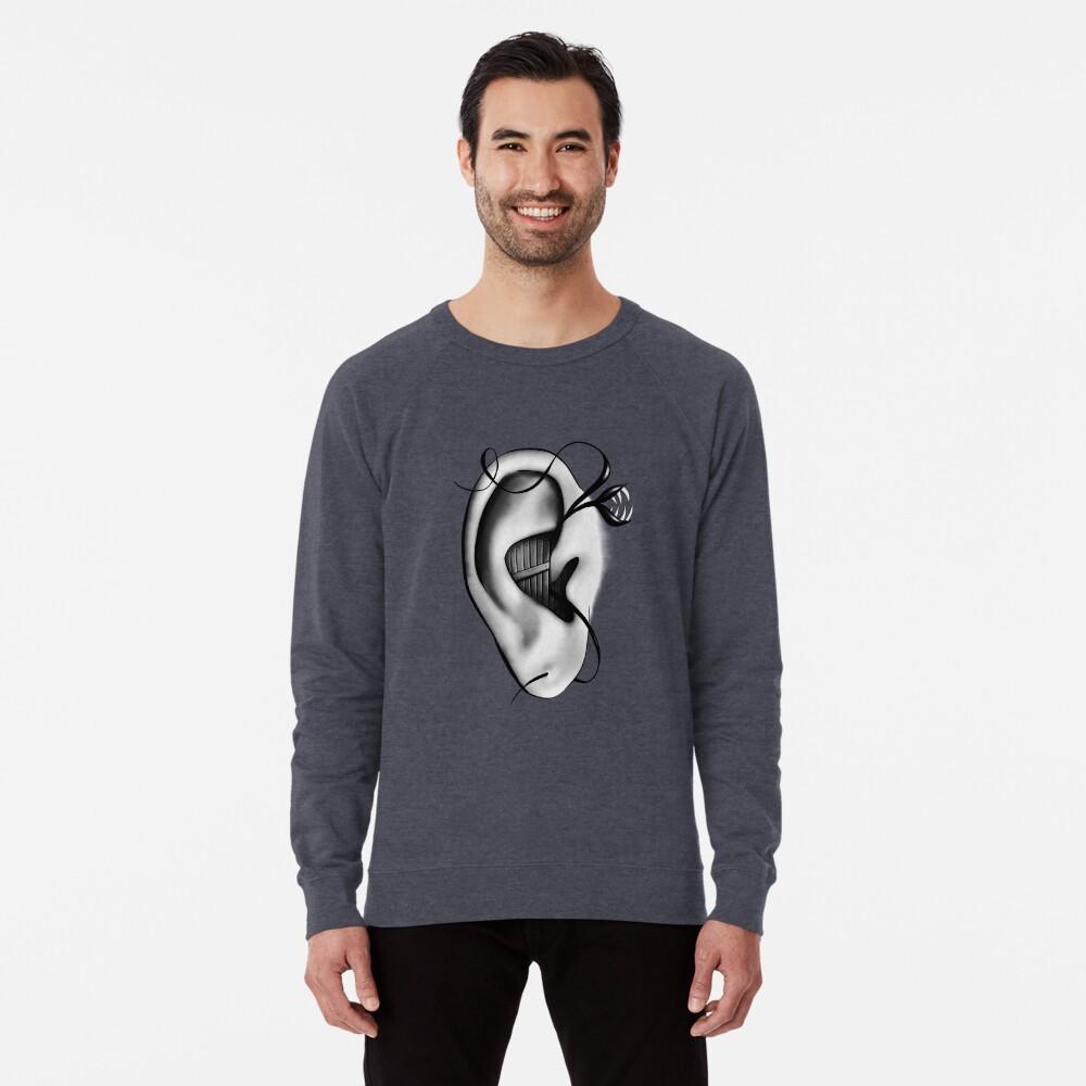 Ear Monster Weird Art Lightweight Sweatshirt