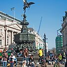 The Statue of Eros: Piccadily Circus, London, UK. by DonDavisUK