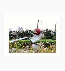 Spoonbridge and Cherry in Autumn Art Print