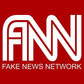 Fake News Network (White) by MillSociety