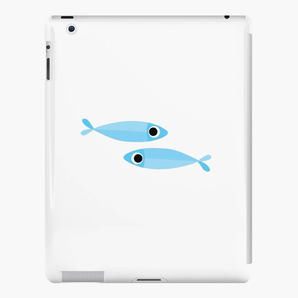 flock of sardines iPad Case & Skin