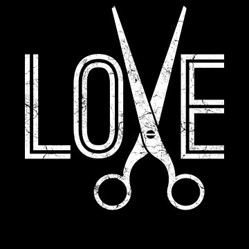 Barber love by IchliebeT-Shirt