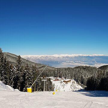 Bansko ski resort by psychoshadow