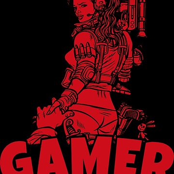 Gamer T-Shirt The perfect gift idea. by BitMax