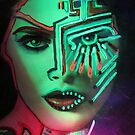 Transhumanism Daughters   {art poem} by ellamental