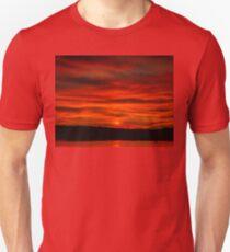 Dusk Burning Sunrise Unisex T-Shirt