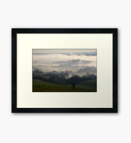 Glynde Mist Framed Print