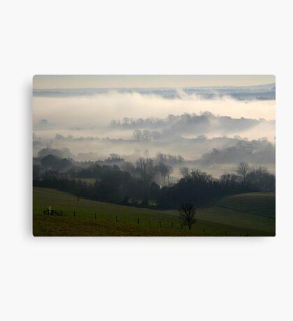 Glynde Mist Canvas Print