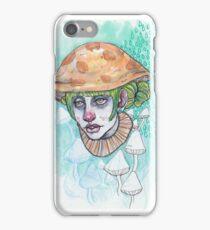 mushroom cap iPhone Case/Skin