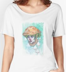 mushroom cap Women's Relaxed Fit T-Shirt